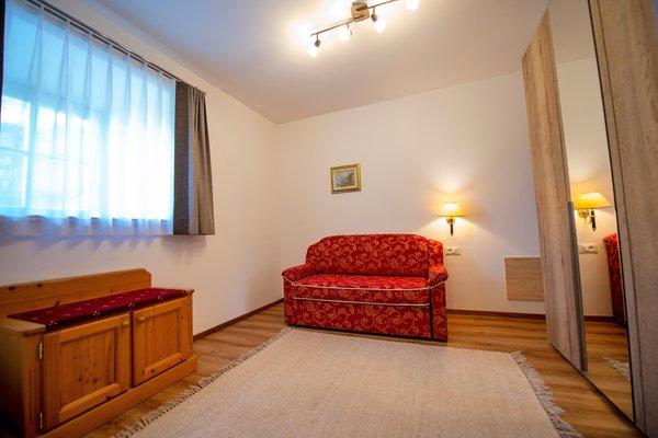La zona giorno Chalet Alpina - Residence