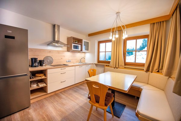 Der Wohnraum Residence Chalet Alpina