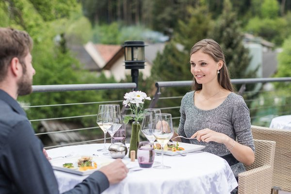 Il ristorante San Lorenzo di Sebato Winklerhotel Lanerhof