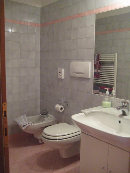 Photo of the bathroom Bed & Breakfast Ciasa Weber