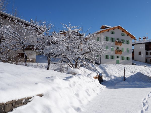 Foto invernale di presentazione Rocca Bruna Apartments