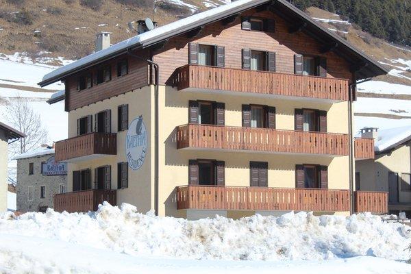 Foto invernale di presentazione Raethia - Residence