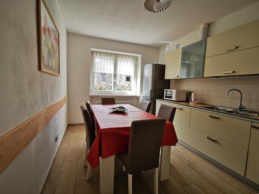 Foto della cucina L'Antico Eremo