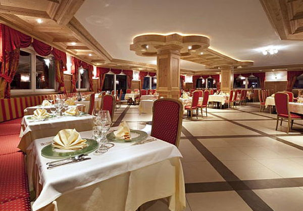 La sala da pranzo Parc Hotel Miramonti