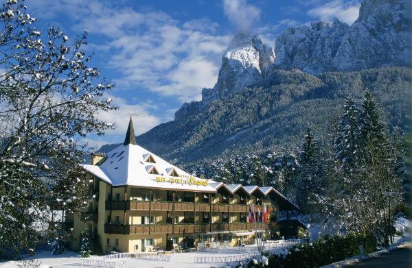 Foto invernale di presentazione Parc Hotel Miramonti - Hotel 4 stelle