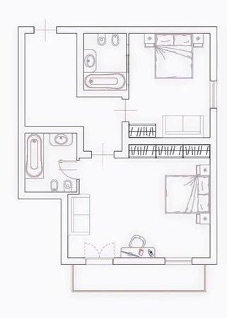 Der Grundrissplan Hotel Weisses Rössl