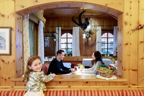 The restaurant San Candido / Innichen Cavallino Bianco