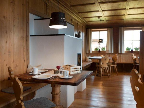 La colazione Zwiglhof - Camere in agriturismo 4 fiori