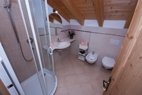 Photo of the bathroom Farmhouse apartments Kuentnerhof - Maso Kuentner