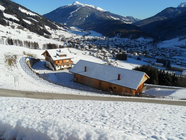 Foto esterno in inverno Kuentnerhof - Maso Kuentner