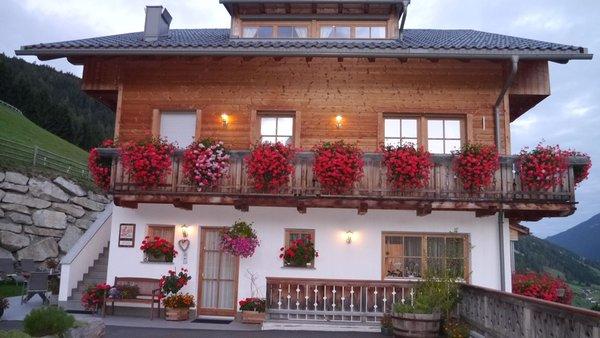 Foto esterno in estate Kuentnerhof - Maso Kuentner