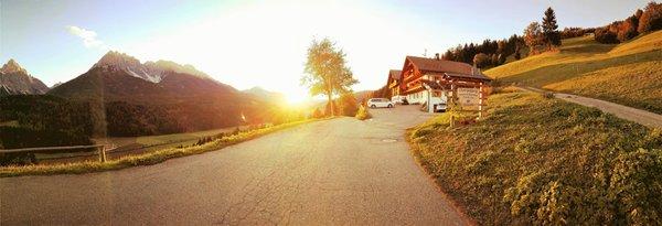 Foto Außenansicht im Sommer Oberpappinghof