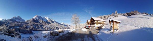 Foto Außenansicht im Winter Oberpappinghof
