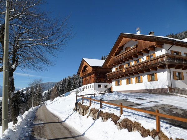 Foto invernale di presentazione Oberpappinghof - Appartamenti in agriturismo 2 fiori