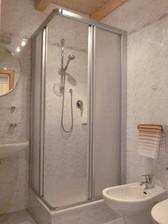 Foto del bagno Appartamenti in agriturismo Oberpappinghof