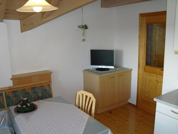 La zona giorno Oberpappinghof - Appartamenti in agriturismo 2 fiori