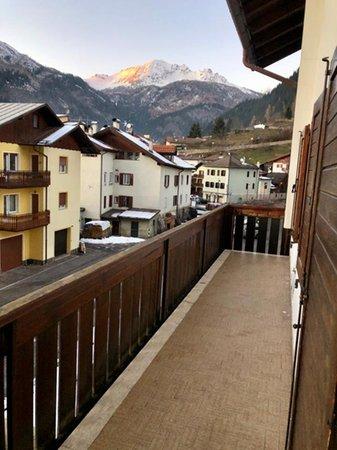 Foto del balcone Casa Bedovei