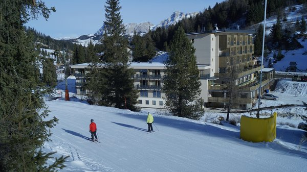 Foto invernale di presentazione Boè - Hotel 3 stelle sup.