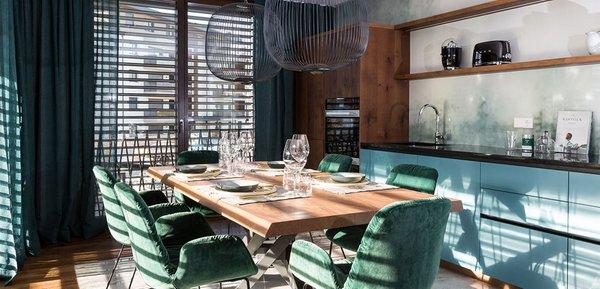 Foto der Küche Anton Luxury Stay