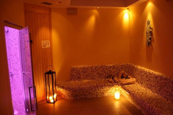 Hotel la baita livinallongo del col di lana arabba - Il bagno turco dipinto ...
