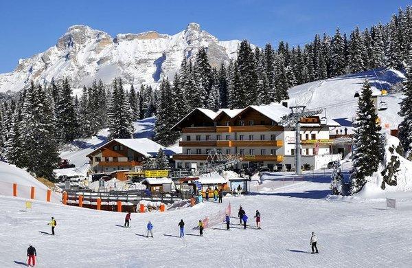 Foto invernale di presentazione Laguscei - Hotel 3 stelle