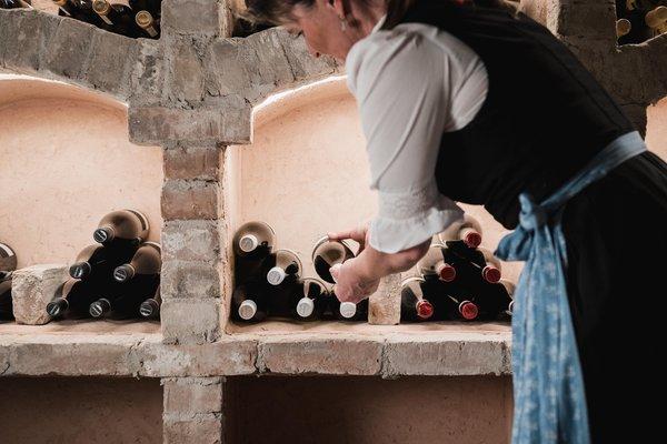 La cantina dei vini Arabba Laguscei