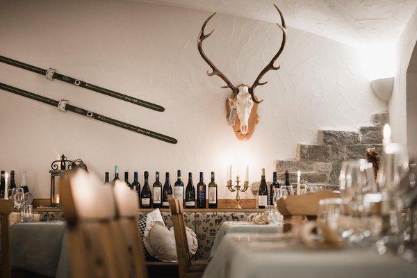 Il ristorante Arabba Laguscei