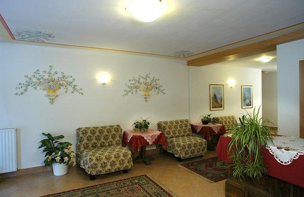 Die Gemeinschaftsräume Residence Sella Ronda