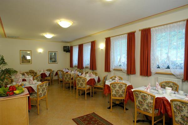 Das Restaurant Arabba Sella Ronda