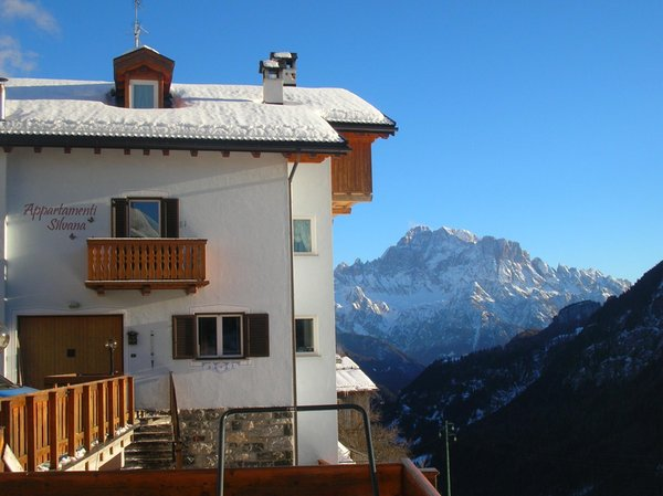 Foto invernale di presentazione Ploner Silvana - Appartamenti