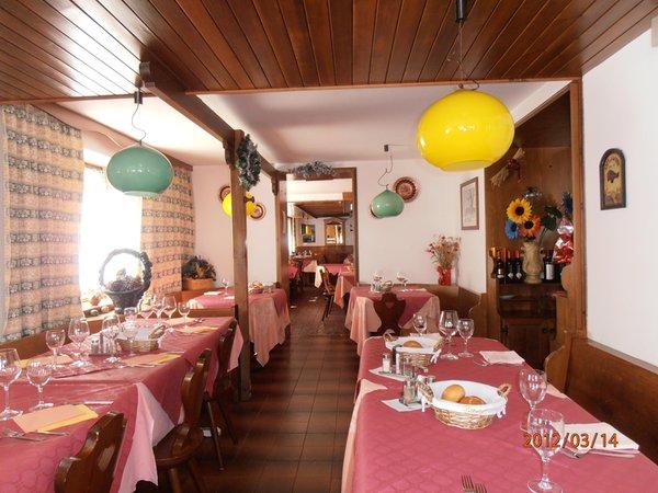 The restaurant Malga Ciapela (Marmolada) Malga Ciapela