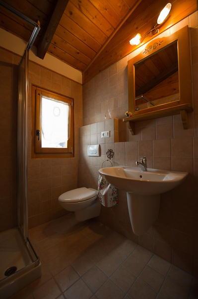 Foto del bagno Appartamenti Chalet Orse e Rose
