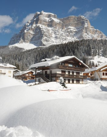 Foto invernale di presentazione Casa Piva - Appartamenti