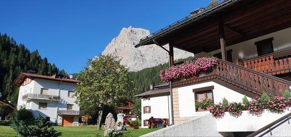 Foto Außenansicht im Sommer Casa Piva