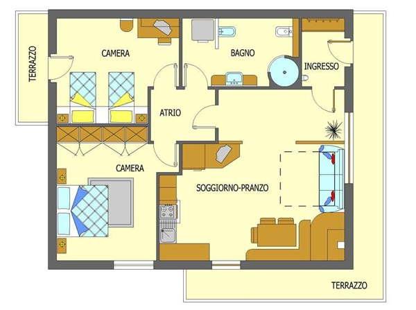 Planimetrie casa with planimetrie casa for Planimetrie di case personalizzate