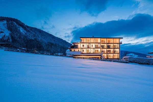 Foto invernale di presentazione Hotel Mühlgarten