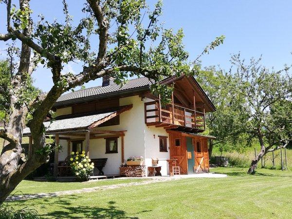 Photo exteriors in summer Chalet La Casetta Nel Frutteto