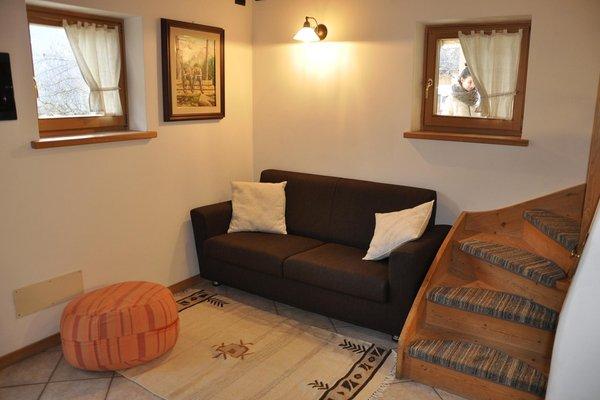 The living room Chalet La Casetta Nel Frutteto