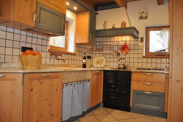 Photo of the kitchen Chalet La Casetta Nel Frutteto