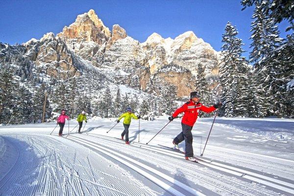 Winter presentation photo Alta Badia - Cross Country Ski School