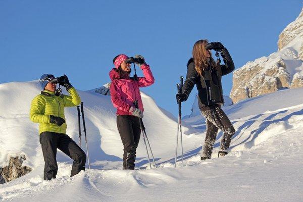 Photo exteriors in winter Alta Badia