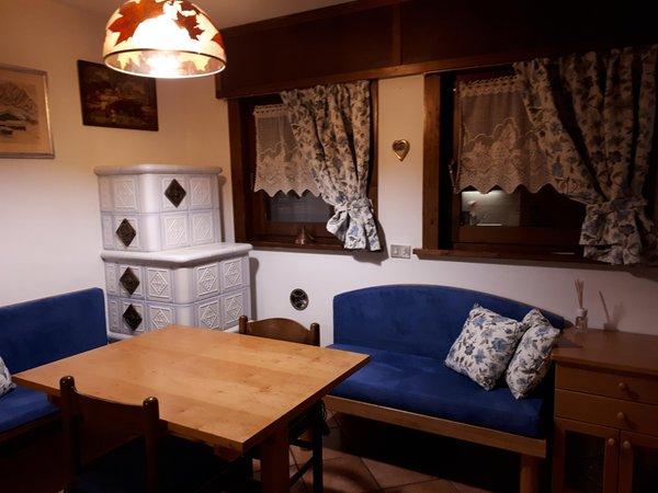 Der Wohnraum Ferienwohnung Casa Il Doge