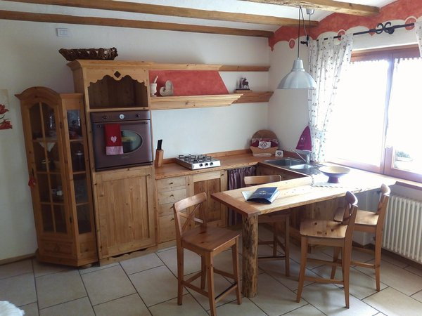 La zona giorno Appartamenti Tarin