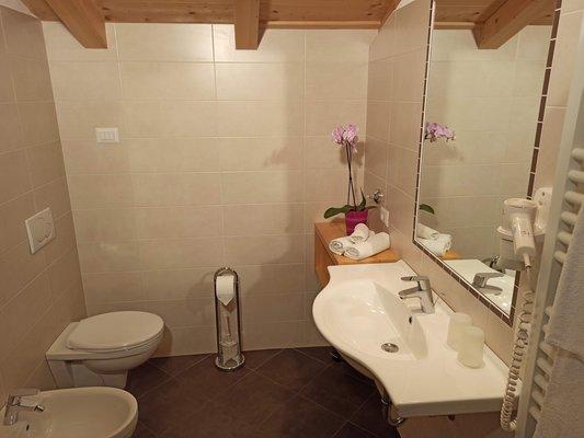 Photo of the bathroom Farmhouse apartments Polzhof