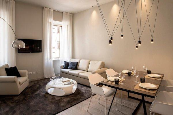 The living area Cinquanta4 Charme Apartment