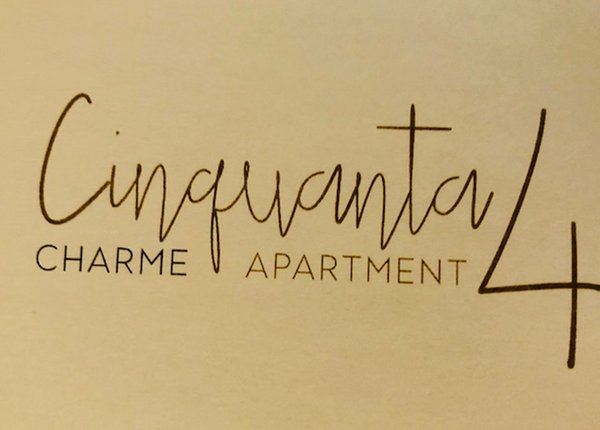 Logo Cinquanta4 Charme Apartment