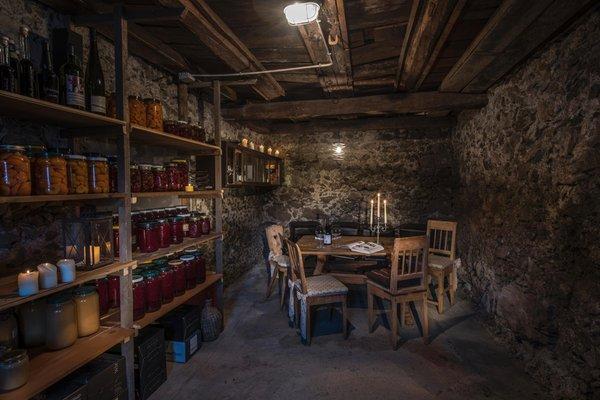 La cantina dei vini San Lorenzo di Sebato Saalerwirt
