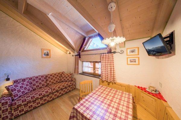 The living area Apartments Camping Catinaccio Rosengarten