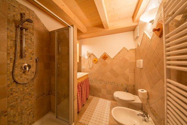 Photo of the bathroom Apartments Camping Catinaccio Rosengarten