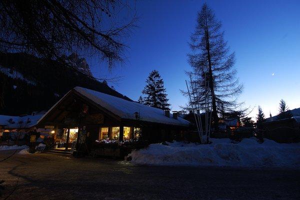 Photo exteriors in winter Camping Catinaccio Rosengarten
